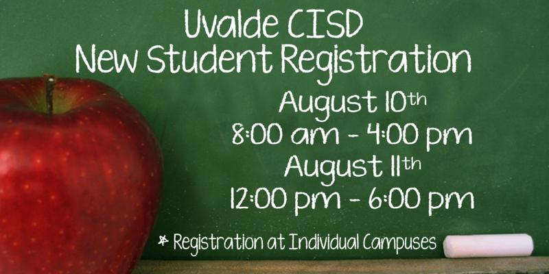 2015 - 2016 New Student Registration Information
