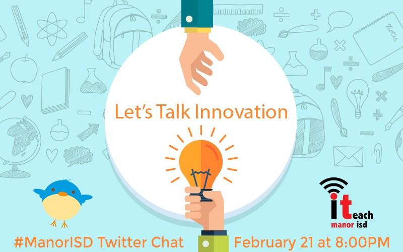 MISD, iTeach Hosting Innovation Twitter Chat Thumbnail Image