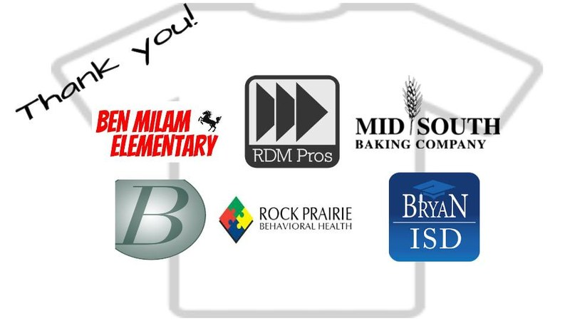 Thank You To Our Local Sponsors for Our New Milam T-Shirts!