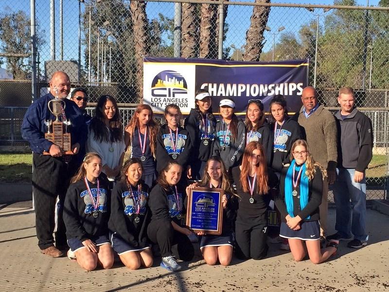 Girls Tennis takes City Championship!