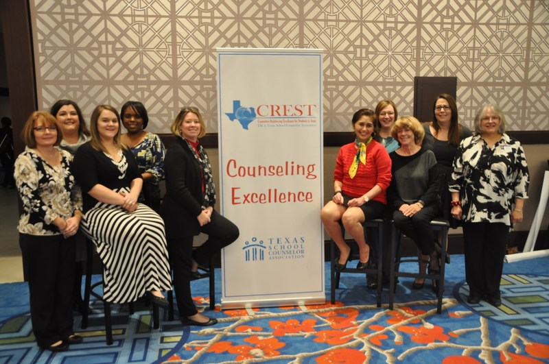 Temple Counselors Receive Prestigious Statewide Honor