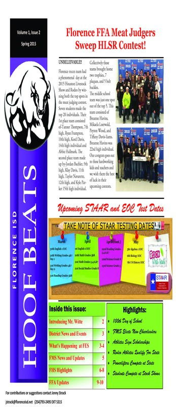Check Out the Latest Issue of Hoof Beats!