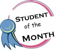Students of the month of December 2015 Activity