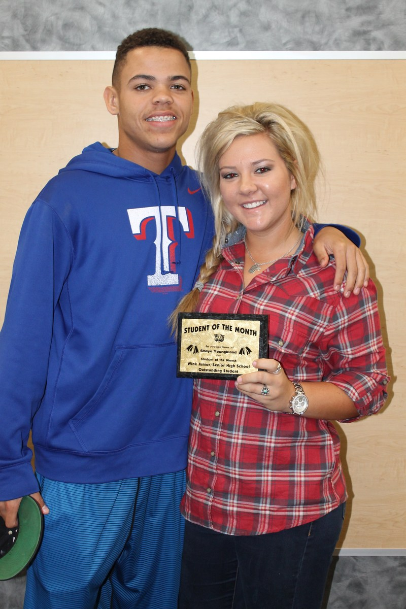 WHS September Students of the Month