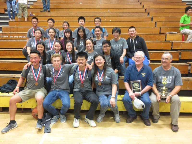 Walnut, Chaparral Win State Science Olympiad Trophies!