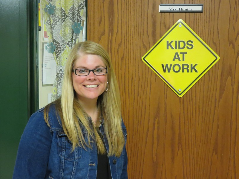 Hunter Named Educator of the Year