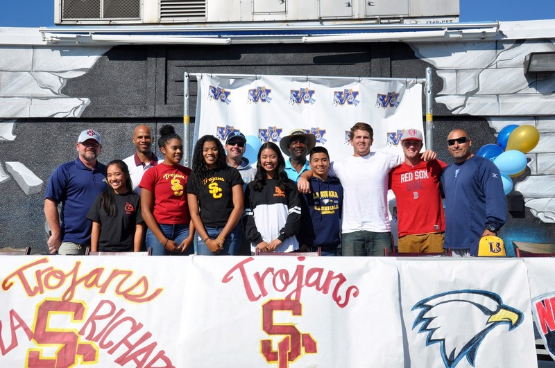WHS Athletes Sign NCAA Letters of Intent
