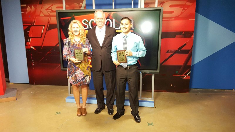 Floresville Athletes chosen as KSAT12's Scholar Athlete of the Week