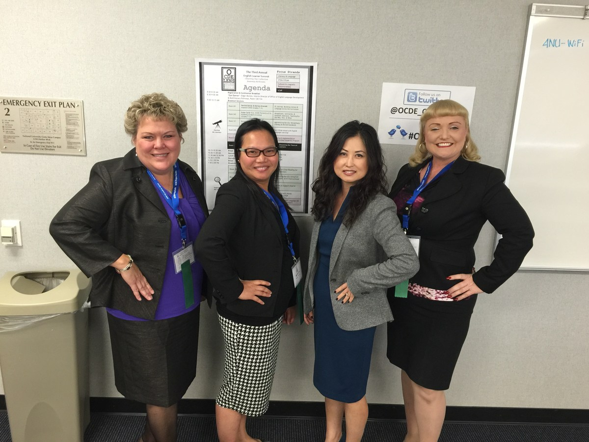 WSD Presenting Journey to Dual Language Immersion at OCDE EL Summit 2015