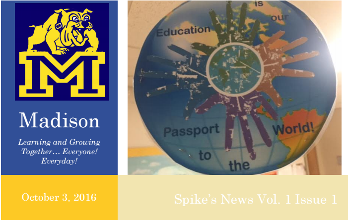 Spike's News Vol. 1 Issue 1 Thumbnail Image
