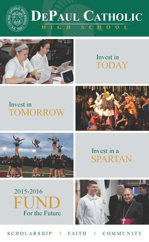 The 2015-2016 DePaul Catholic Annual Fund