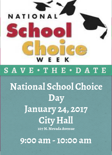 National School Choice Week Save The Date Icon