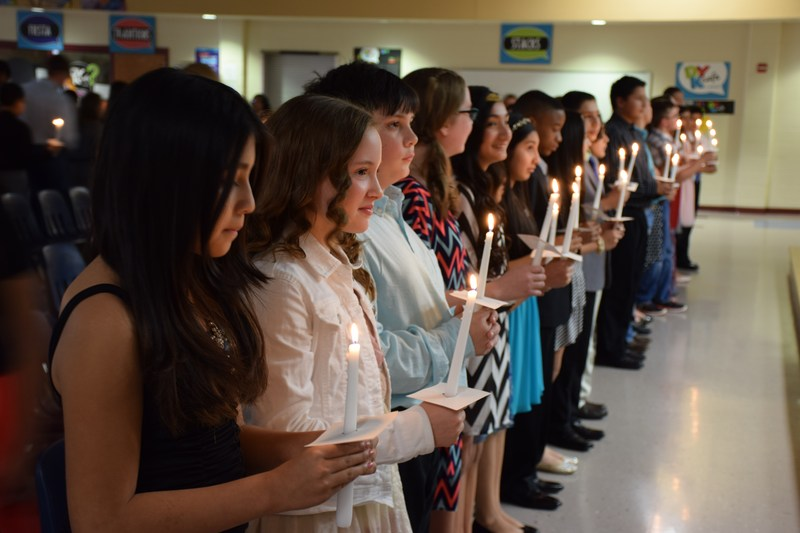 1st LJHS National Junior Honor Society Induction