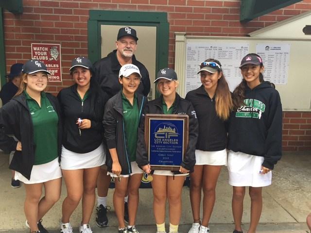 Granada Hills Charter Wins 5th Consecutive Girls Golf Championship