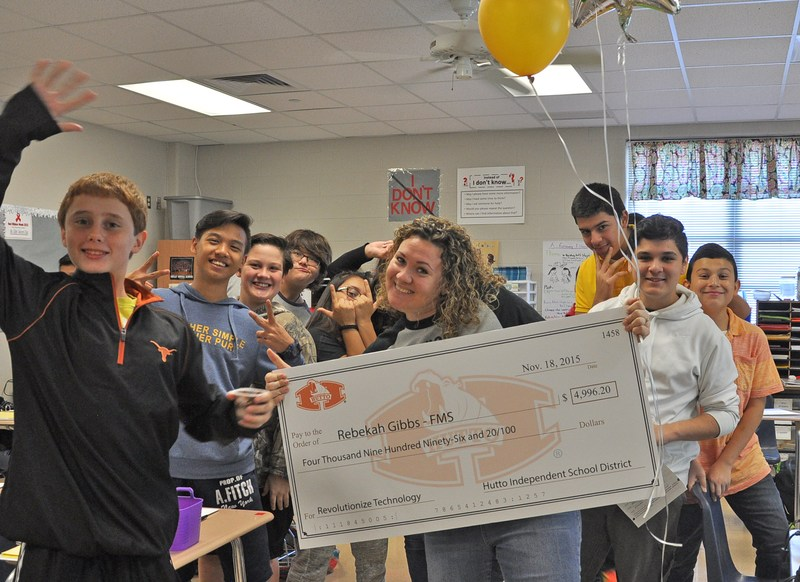 Hutto Education Foundation and Hutto ISD Award $73,000 to Teachers