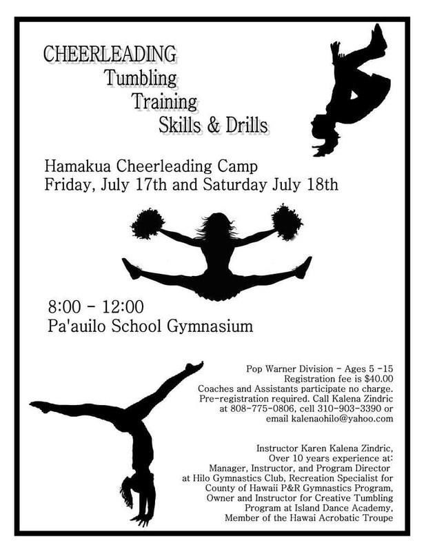 Cheerleading Summer Camp