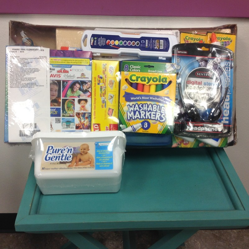 2015-2016 School Supplies On Sale Now Through June 12th
