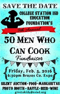 50 Men Who Can Cook 2/5/16 @ 6:30pm