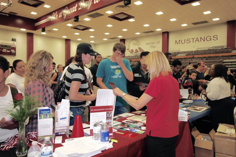 Hemet Unified had its First College and Career Fair