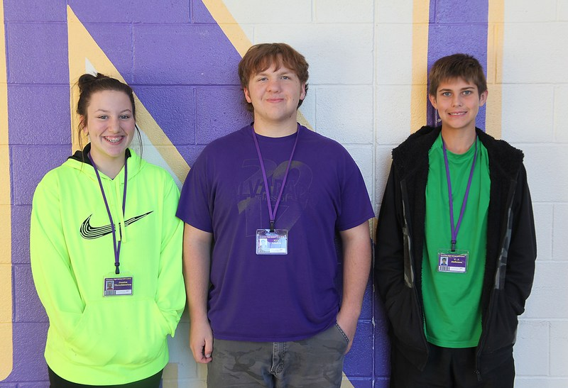 Choir trio earns all-state auditions