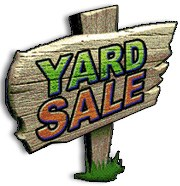 Harrison Elementary Yard Sale Coming!