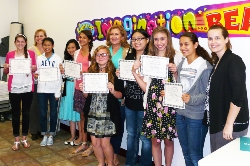 Nine CSISD middle schoolers earn poetry awards