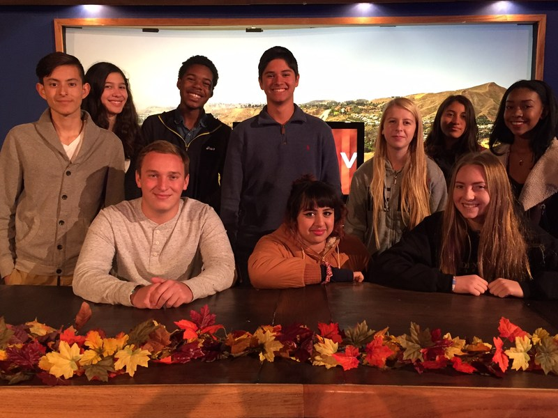 GVTV honored as one of only nine high school video production teams to enter STN contest
