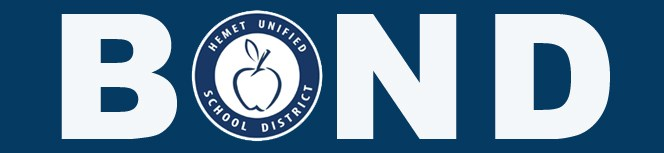 Bond with Hemet Unified logo