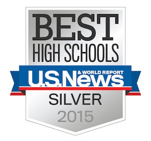 Bell High School Named a 2015 Silver Award Winner as one of the Nation's Best High Schools!