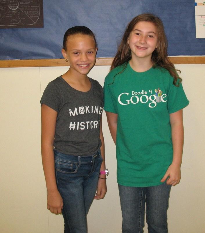 5th Grade Honor Choir - Congratulations Ella Nance & Shanellyz Irizarry!!