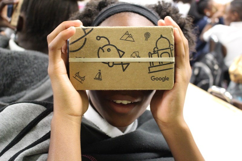 Google Expedition Tour Lands in Lancaster ISD