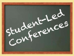 10 Week Student Led Conferences- Please RSVP