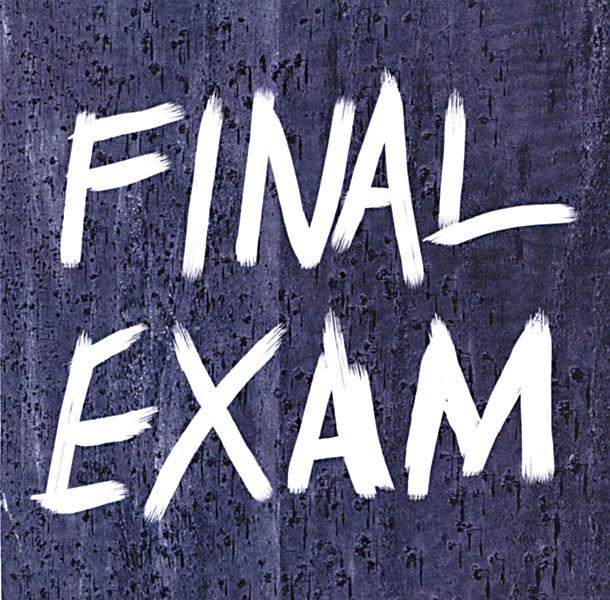 Final Exams Approaching