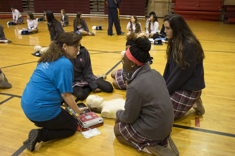 Bishop Kenny awarded Firehouse Subs Public Safety Grant for AED program Thumbnail Image