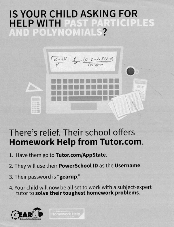 Homework Help from Tutor.com - Free to 9th graders Thumbnail Image