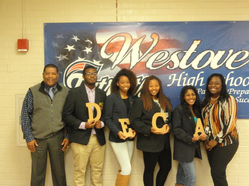 Westover DECA students take firsts in region competition Thumbnail Image