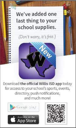 Willis ISD -- There's An App for That!