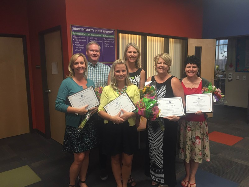 Rocklin Academy honors teachers and staff with 10 Years of Service