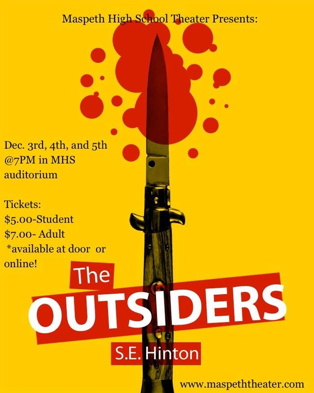 Maspeth High School Theater Presents: The Outsiders