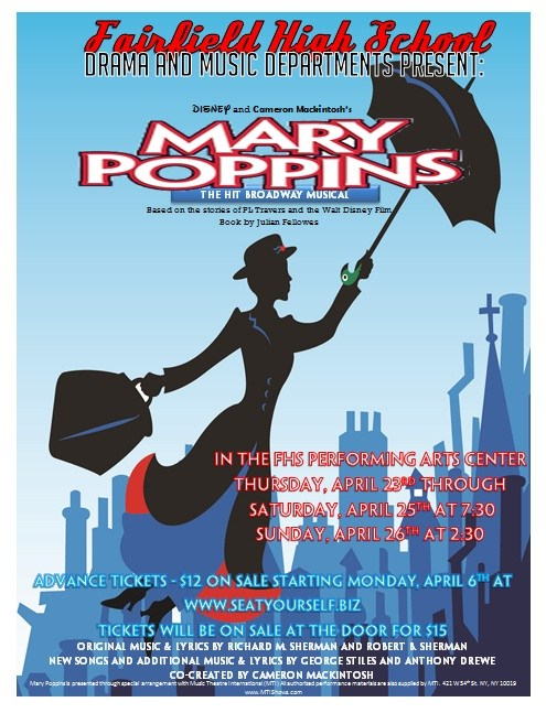 FHS Drama & Music Departments Present... Mary Poppins April 23-26!