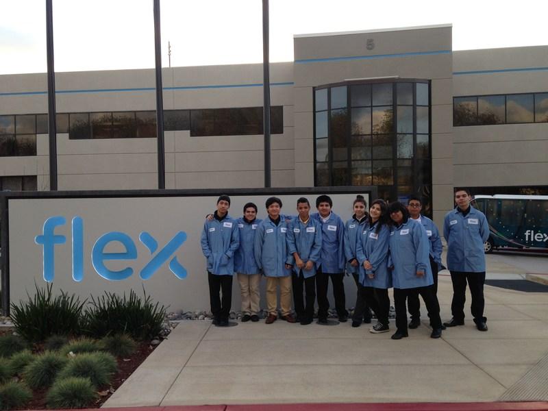 Students Tour Flextronics!