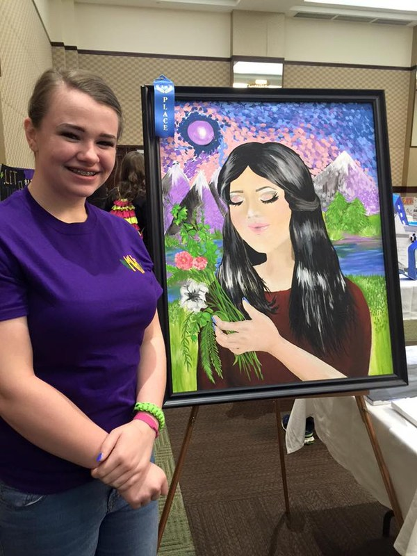 McBee High student wins at convention
