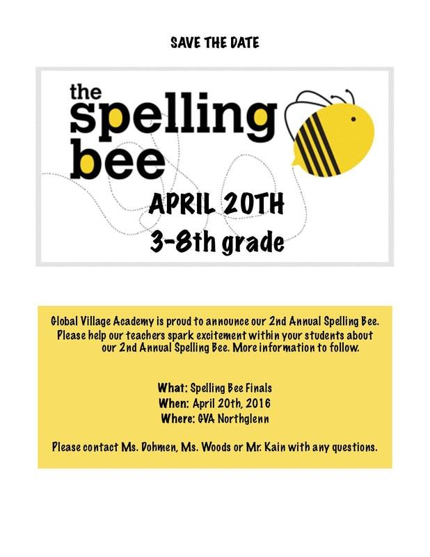 Spelling Bee at GVA NG