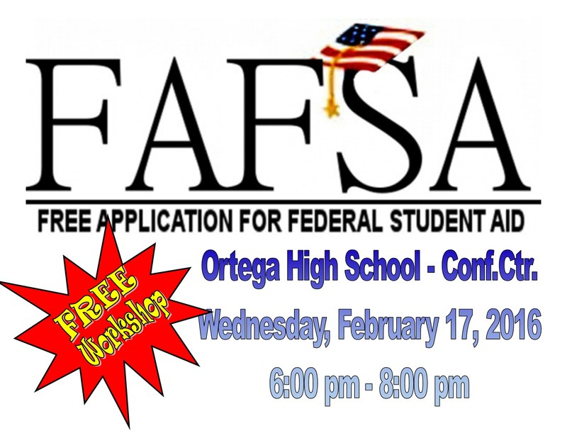 FAFSA Workshop - Wednesday, February 17, 2016,  6pm-8pm