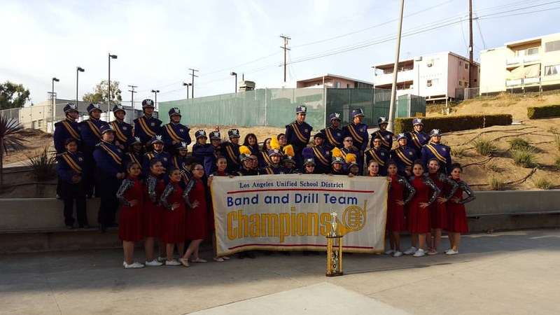 Bell Marching Eagles Soar to First Place in City Band and Drill Team Competition!