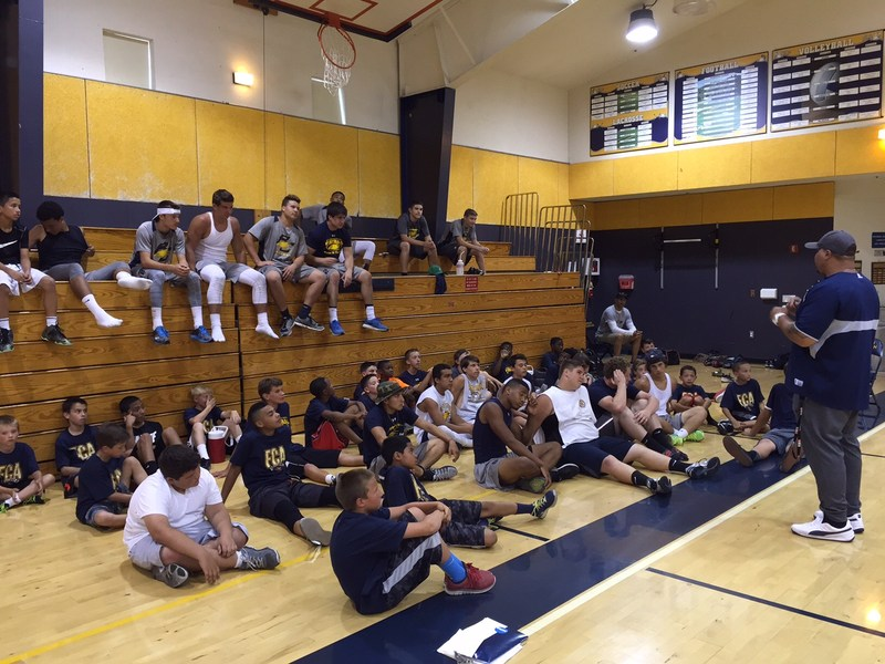 Berean Hosts FCA Football Camp featuring NFL and College Players