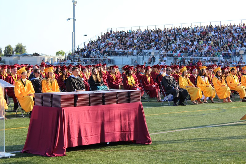 EHS Commencement Ceremony - June 10th, 2015