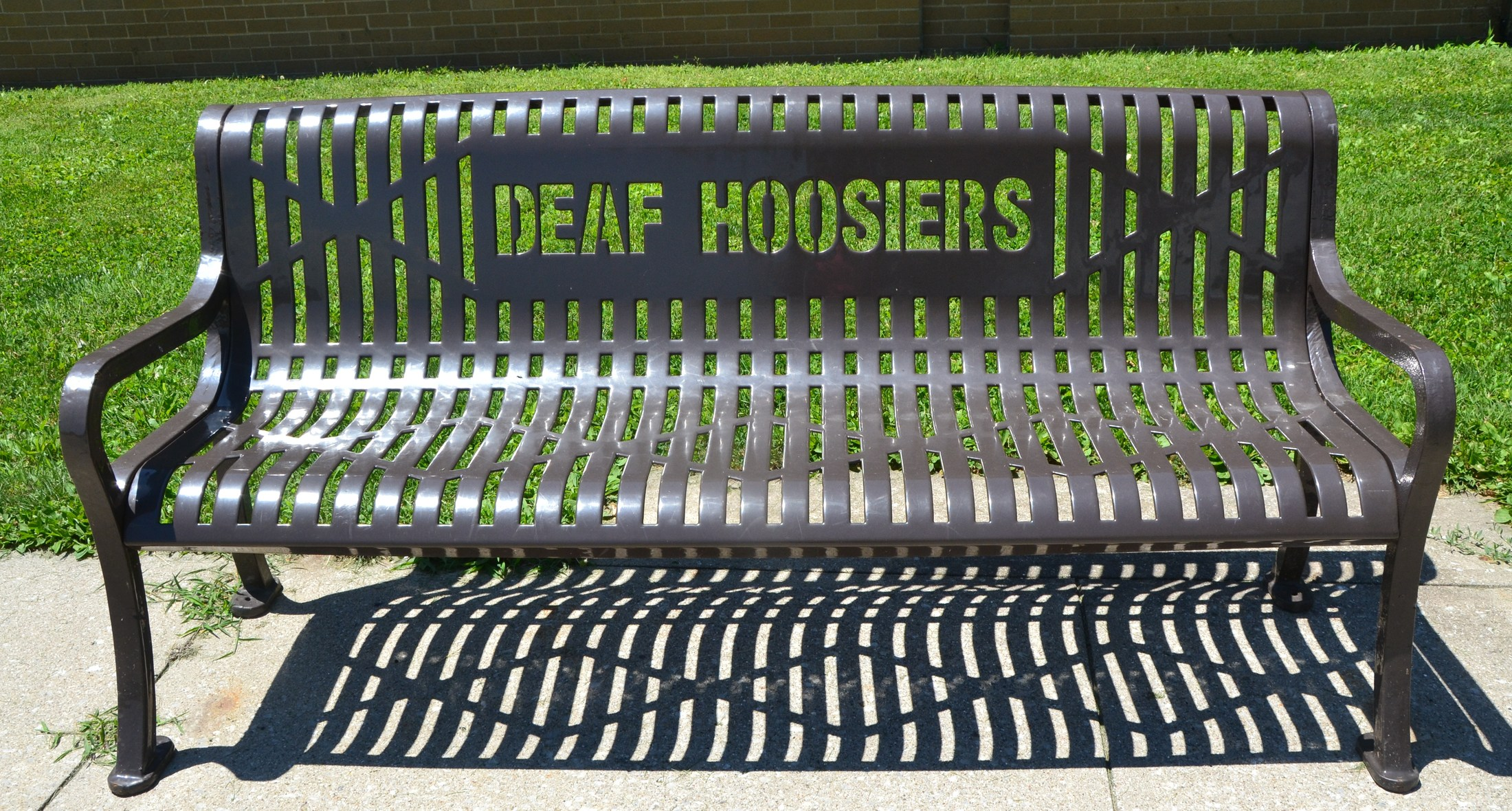 Deaf Hoosiers Bench