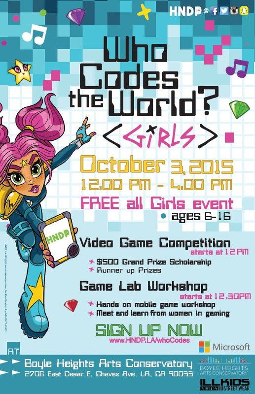 """Who Codes the World? Girls!"""