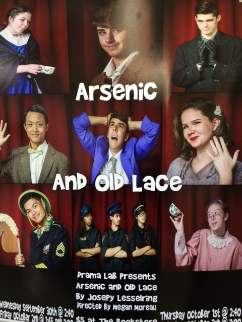 Drama Lab Presents: Arsenic and Old Lace-- See the Trailer Here!